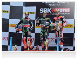 WorldSBK Race 2 podium