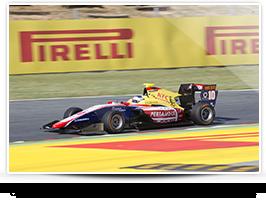 GP3 drivers will all use P Zero Orange hard tyres