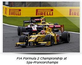 FIA Formula 2 Championship at Spa-Francorchamps