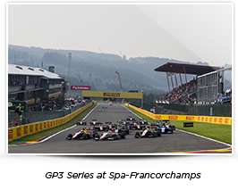 GP3 Series at Spa-Francorchamps