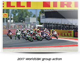 2017 WorldSBK group action
